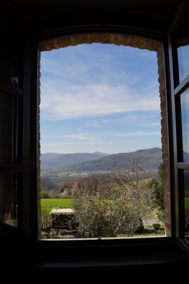 Montone widok z okna