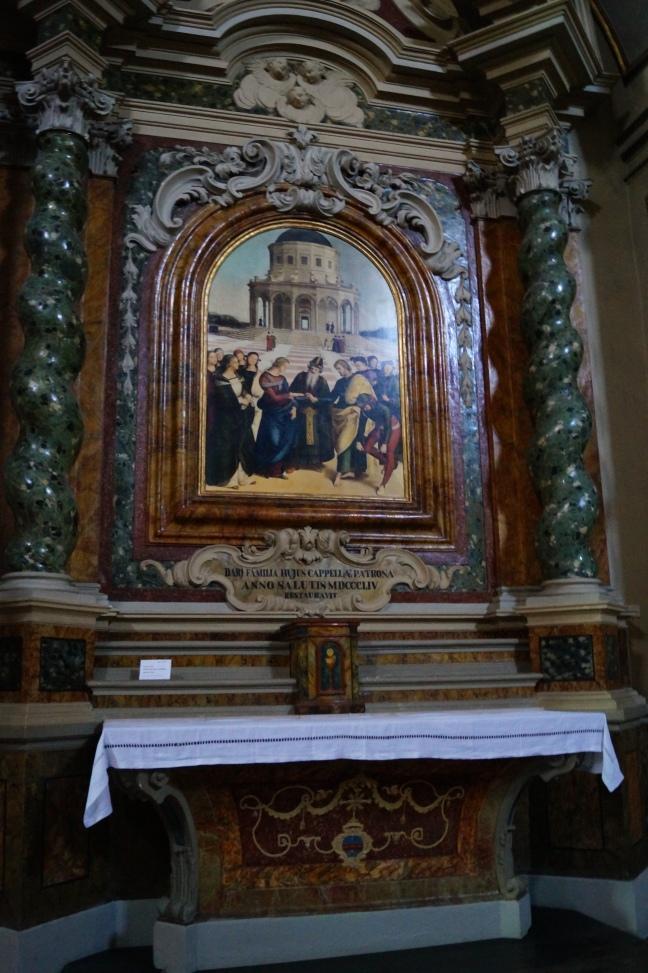 Raffaelle, Sposalizio della Vergine